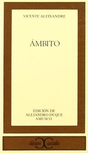 9788470395543: Ámbito (CLASICOS CASTALIA. C/C.)