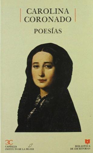 9788470395994: Poesías, Carolina Coronado . (BIBLIOTECA DE ESCRITORAS. B/E.)