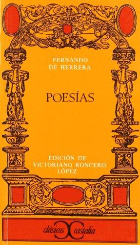 9788470396328: Poesías . (CLASICOS CASTALIA. C/C.)