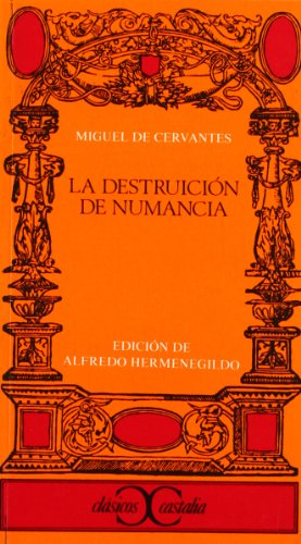 9788470396977: La destruccion de Numancia (Clasicos Castalia) (Spanish Edition)