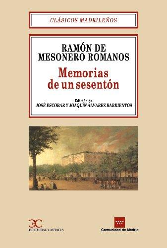 9788470396984: Memorias de un Setenton (Clasicos Madrile~nos) (Spanish Edition)