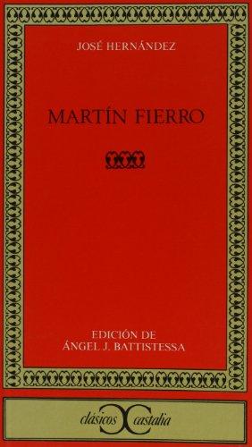 9788470397035: Martín Fierro (CLASICOS CASTALIA. C/C.)