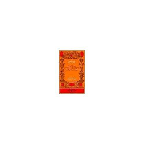 9788470397431: Poesias castellanas completas de Garcilaso de La Vega (Clasicos Castalia) (Spanish Edition)