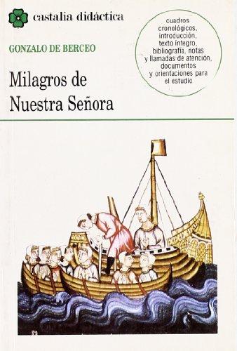 9788470397448: Milagros de Nuestra Señora . (CASTALIA DIDACTICA. C/D.)