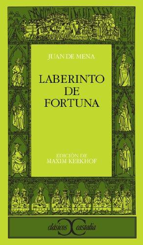 9788470397547: Laberinto de fortuna (CLASICOS CASTALIA. C/C.)