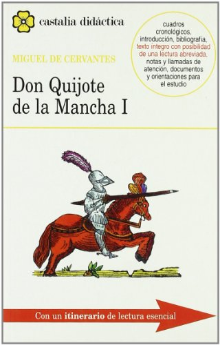 9788470397783: Don Quijote de la Mancha I - II [2 Vols.] (CASTALIA DIDACTICA. C/D.)