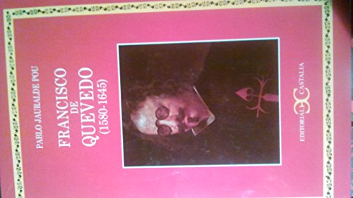9788470398124: Francisco de Quevedo: 1580-1645 (Spanish Edition)