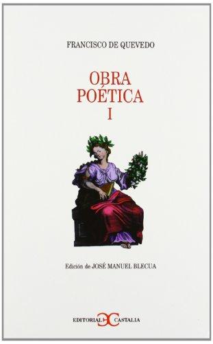 9788470398162: Obra poética Tomo I . (Selecciones Castalia)