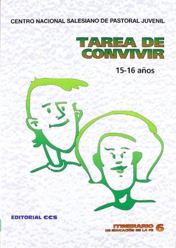 9788470439483: Itinerario de educación en la fe: Tarea De Convivir - 5ª Edición: 6