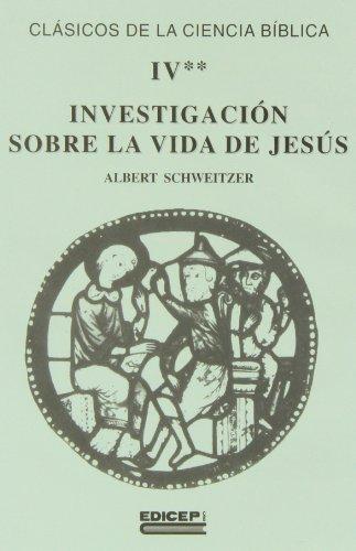 9788470506826: Investigacion sobre la vida de Jesús.segunda parte