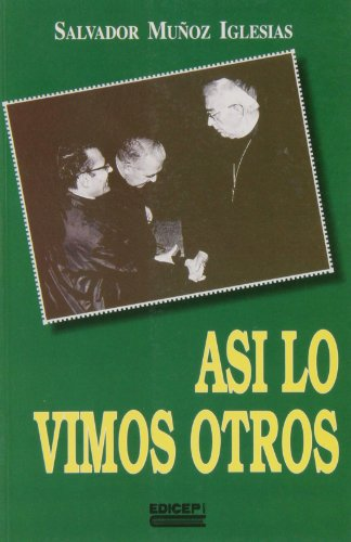 Así lo vimos otro (Paperback): Salvador Muñoz Iglesias