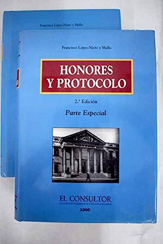 9788470522901: HONORES Y PROTOCOLO (2 VOLS.)