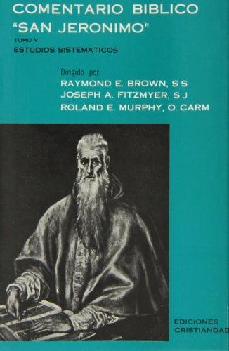 9788470571183: Comentario Bblico San Jerónimo. Tomo V. Estudios Sistemáticos