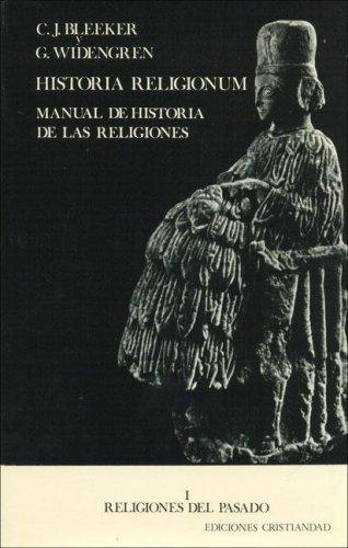 Historia Religionum - Manual de Historia de: Bleeker