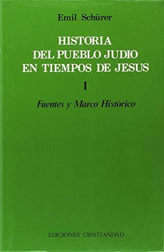 9788470573651: Historia del pueblo judío en tiempos de Jesús.