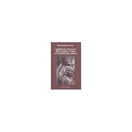 9788470573842: Ambiente político del pueblo judío en tiempos de Jesús