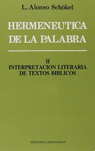 9788470574139: HERMENEUTICA DE LA PALABRA TOMO II