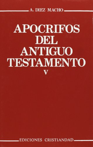 9788470574214: Apocrifos del Antiguo Testamento - Tomo V (Spanish Edition)