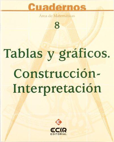 9788470657597: TABLAS Y GRAFICOS. CONSTRUCCION-INTERPRETACION. CUADERNOS AREA MATEMATICAS Nº 8