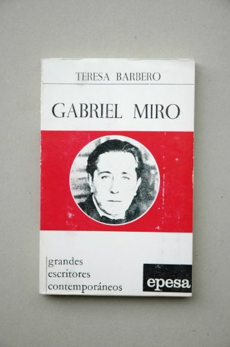 GABRIEL MIRO: TERESA BARBERO