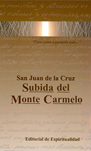 9788470683169: Subida del Monte Carmelo (Logos)