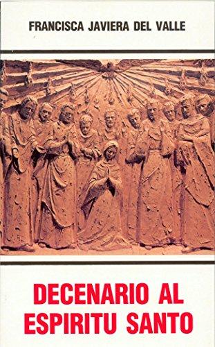 9788470683442: Decenario al espíritu santo (Logos)