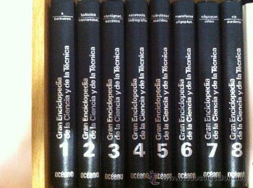 GRAN ENCICLOPEDIA DE LA CIENCIA Y DE LA TECNICA ( 8 VOLUMENES ): Varios
