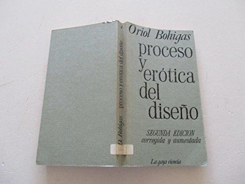 9788470800047: Proceso y erótica del diseño (Spanish Edition)