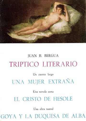 9788470830624: Tríptico literario (Tesoro literario)