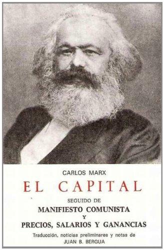 9788470830754: EL CAPITAL: Manifiesto Comunista (CLASICOS BERGUA)