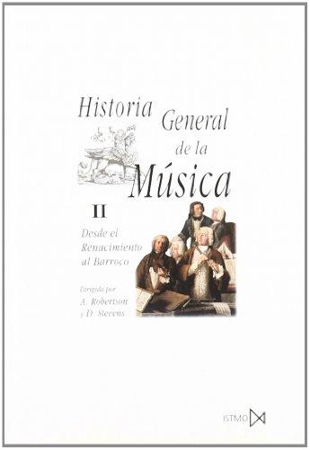 9788470900358: Historia General De La Música - Volumen II (Fundamentos)