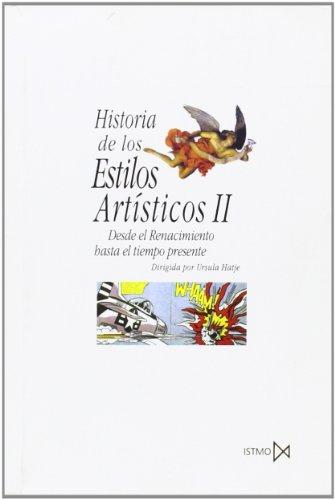 9788470900488: Historia de los estilos artísticos II (Fundamentos)