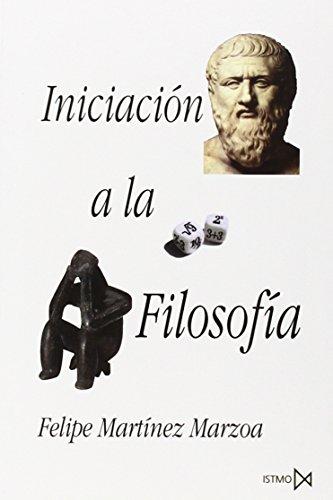 9788470900594: Iniciación a la filosofía (Colección Fundamentos ; 45) (Spanish Edition)