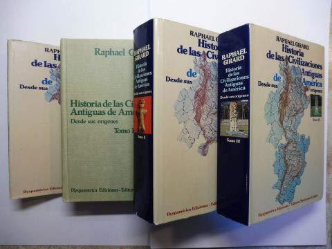 9788470900792: Historia de las civilizaciones antiguas de America: Desde sus origenes (Coleccion Colegio Universitario, Nos. 8-10) (3 Volumes) (Spanish Edition)
