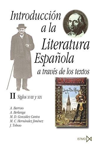 9788470901065: Introducción a la literatura española a través de los textos II (Fundamentos)
