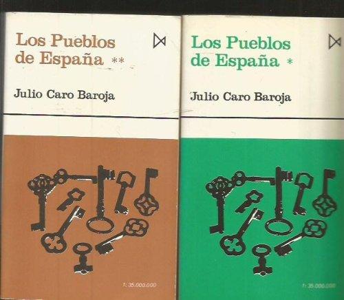 9788470901157: Los pueblos de Espana, tomo 1 [Paperback] [Jan 01, 1996] Caro Baroja, Julio