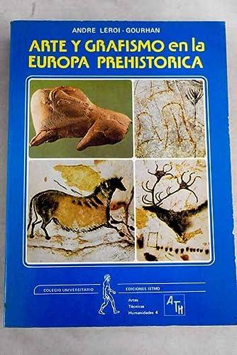9788470901454: Arte y grafismo en la Europa prehistorica