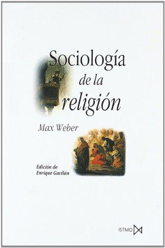 9788470903076: Sociologia de La Religion (Spanish Edition)