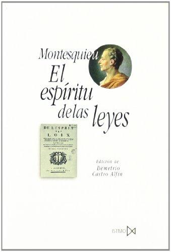 EL ESPÍRITU DE LAS LEYES: MONTESQUIEU
