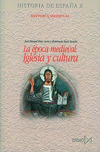 9788470904325: La época medieval : iglesia y cultura