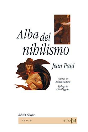 9788470904707: Alba del nihilismo