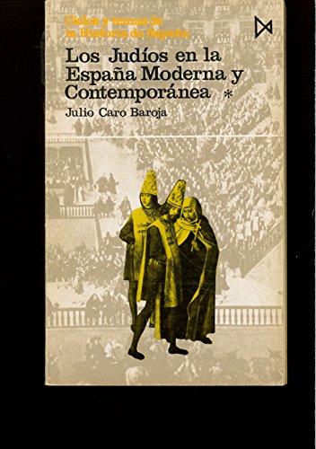 9788470909900: (I) los judios en la España moderna y contemporanea (vol. I)