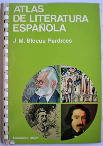 9788470930157: Atlas de literatura española (Colección Atlas. Letras)