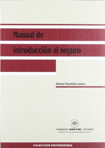 9788471007858: Manual de introduccion al seguro