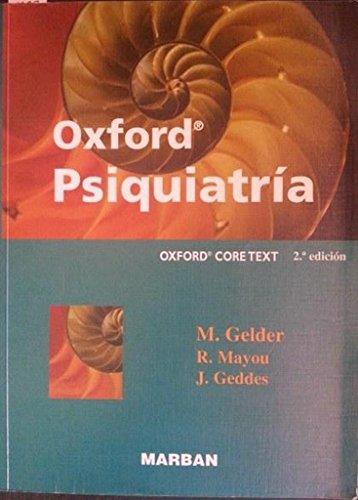 9788471012975: Oxford. Psiquiatría