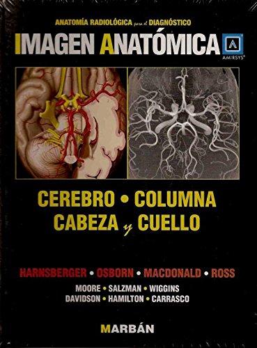 9788471017833: Imagen anatómica. Cerebro, columna, cabeza y cuello ...