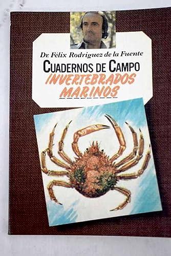 9788471025531: Cuadernos de Campo, 53. Invertebrados marinos