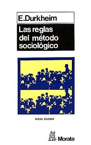 9788471121479: Las Reglas del Metodo Sociologico