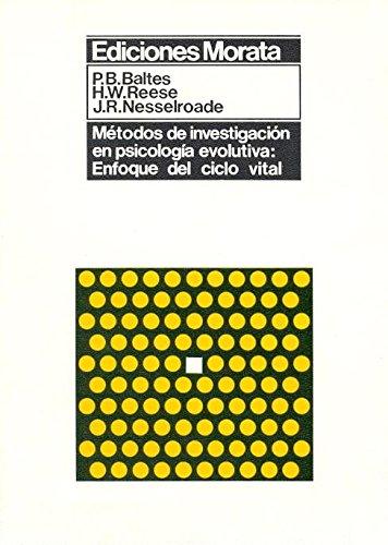 9788471121813: Metodos de Investigacion En Psic. Evolutiva (Spanish Edition)