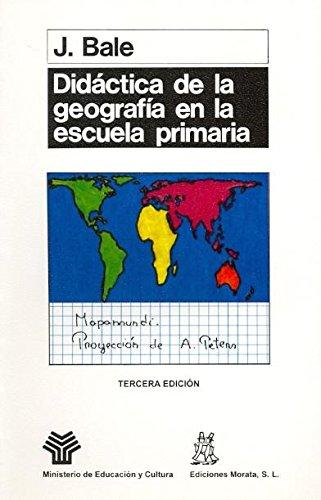 9788471123367: Didactica de La Geografía Escuela PriMaría (Coedición Ministerio de Educación)
